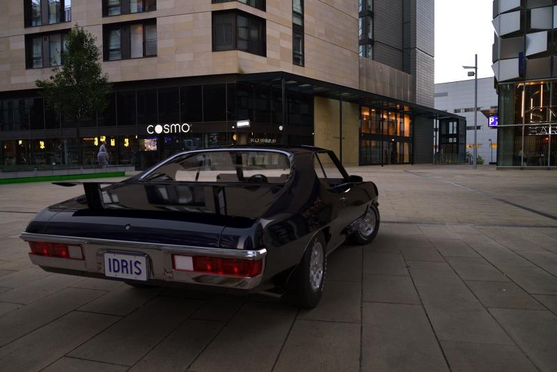 Pontiac GTO 1972 back