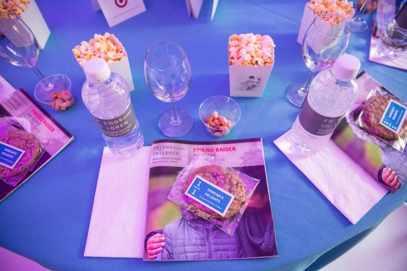 Printed Program, Cookie Sticker and Popcorn Sticker – Friend Raiser 2016