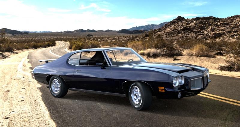 Pontiac GTO 1972 side