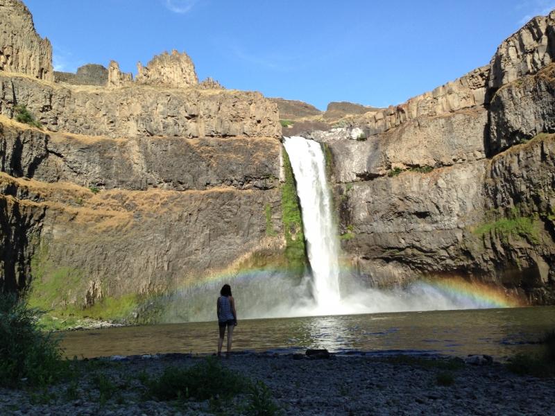Palouse Falls - Rainbow