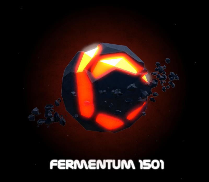 Low Poly Lava Planet