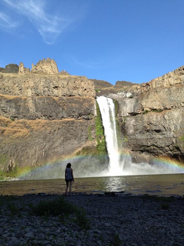 Taking in Palouse Falls