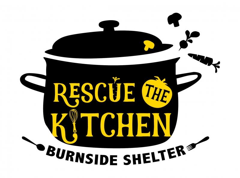 Rescue the Kitchen Logo for Rescue Mission Portland