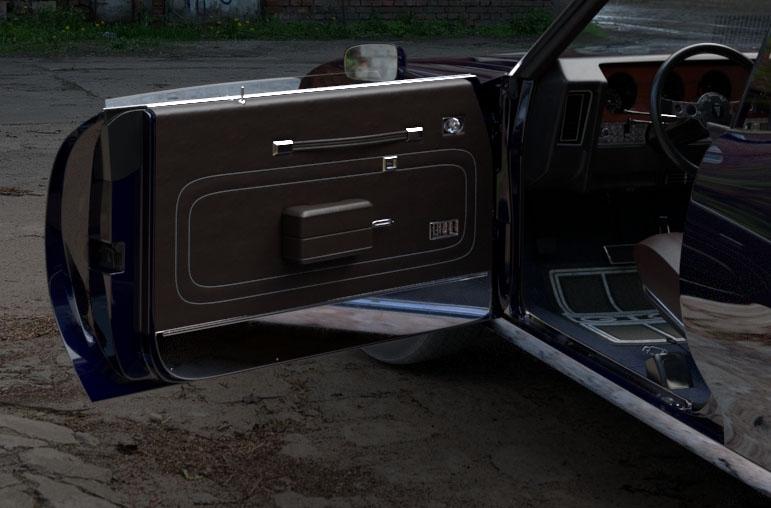 Pontiac GTO 1972 door