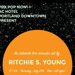 PDX Pop Now! Acoustic Evenings
