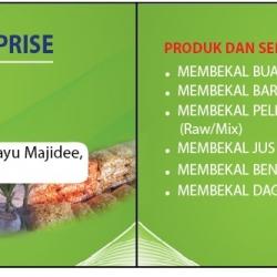 business card design food distributor